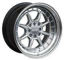 XXR 002.5 16X8 Rims 4x100/114.3 +0 Silver Wheels (Set of 4)