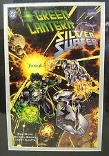 GREEN LANTERN SILVER SURFER Unholy Alliances #1 print signed by DARRYL BANKS