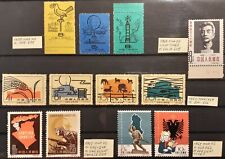 CHINA 1958-1962 collect. in XF/VF/F condit. OG/NGAI, NH/VLH - see description