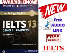2019 IELTS 13 General Training Book Cambridge with Answers & Audio Link