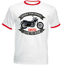 HONDA CMX 250 REBEL - NEW COTTON TSHIRT - ALL SIZES IN STOCK