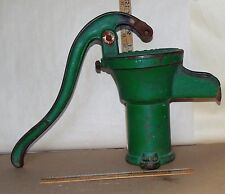 ANTIQUE Well Water Hand Pump Cast Iron HUMPHREYS MFG.MANSFIELD OH - Decro