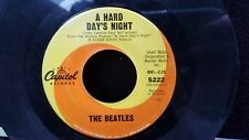 THE BEATLES A HARD DAYS NIGHT/I SHOULD HAVE KNOWN BETTER CAPITOL RECORDS 5222 45