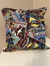"""Marvel Comic Book Cover 12"""" square complete Cushion"""