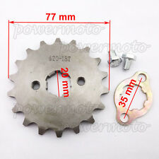 420 18T 20mm Front Engine Sprocket For Pit Bike 110 125 140cc Thumpstar YCF SSR