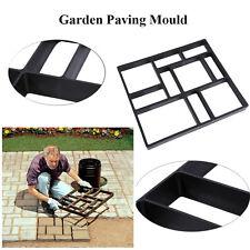 45X40CM Large Driveway Paving Brick Concrete Garden Walk Path Maker Mould Paver