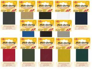 Kleiber flick + fertig Klebeflicken selbstklebend Flicken f. schnelle Reparatur