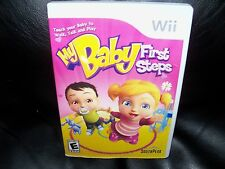 My Baby: First Steps  (Wii, 2009) EUC FREE USA SHIPPING