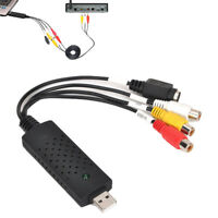 Win7 / 8/10 USB 2.0 Audio Video VHS zu DVD PC Konverter Capture Card Adapter