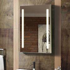 ENKI 500 x 700 Backlit Illuminated Bathroom Wall LED Mirror Vertical Horizontal