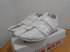 Miss Sixty Dirty Bride white leather casual trainers shoes UK 5 VGC sneakers