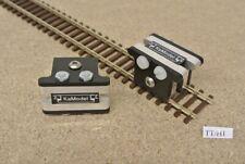 TT/H1 Montage-Clips,krauseklammern zum Verlegen von Flex-Gleisen im TT,2St