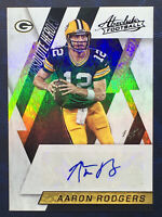 2016 Panini Absolute Aaron Rodgers True 1/1 Auto Heroes One Of One Near Mint +