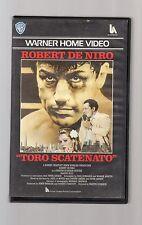 toro scatenato - robert de niro - videocassetta vhs -