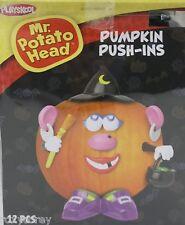 Halloween Mr Potato Head Pumpkin Push In Witch Costume 12 Parts NIB