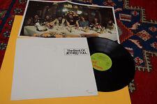 JETHRO TULL LP M.U. BEST OF ORIG GERMANY EX+ CON POSTER TOP COLECTORS