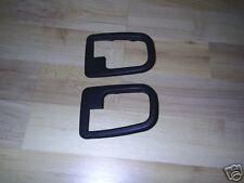 BMW e36 Puerta Interior, serie 3 Mango Adornos (Original) conjunto de dos lado cercano y apagado