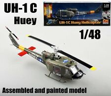US Marines Bell UH-1C Iroquois Huey 1/48 helicopter no diecast plane Easy model