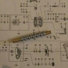 Abu Garcia reel repair parts worm shaft 1280906