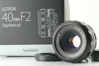 【N MINT】Voigtlander Ultron 40mm f2 SL II S ASPH. Lens for Nikon F Mount JAPAN