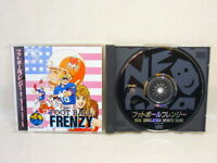 FOOT BALL FRENZY NEO GEO CD SNK Neogeo Import JAPAN Video Game ncd