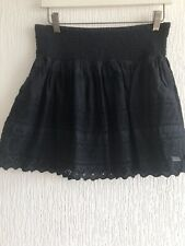 NAVY CROCHET SKIRT S SUPERDRY TOWIE CELEB LOVE GLAM/SUMMER HOLIDAY PARTY BOHO