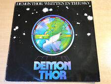 EX- !! Demon Thor/Written In The Sky/1974 United Artists Gatefold LP