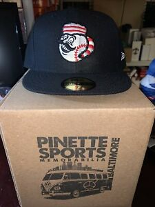 Greeneville Reds New Era BP 59Fifty Cap Hat Size 7 7/8 Cincinnati Mr. Redlegs