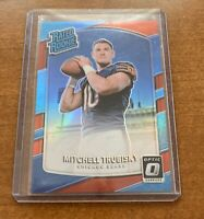 Mitchell Trubisky 2017 Panini Optic Rated Rookie Red Parallel #/99 📈📈