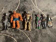 Marvel Legends Lot Loose Action Figures Thanos Thing More