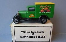 MATCHBOX MB38 MODEL A FORD diecast model ROWNTREE'S TABLE JELLY green body