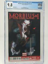 Morbius The Living Vampire #1 Marvel Dell'Otto Movie 9.8 CGC NM+ HOT!!! 2013