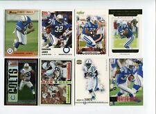 Lot cartes NFL Foot US  Edgerrin James Colts Cardinals