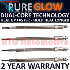 4X Diesel Calentador De Bujías Para Nissan Patrol GR (2000-2015) 3.0 DTI Dual Core