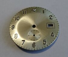 Watchmaking Dial Watch Curved Grey Golden Diameter 1 3/16in For Christian 233