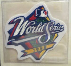 Willabee & Ward NEW YORK YANKEES PADRES 1998 WORLD SERIES PATCH