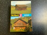 Suitable Marklin spur z scale/gauge Kibri z Animal Shed & Barn Kit.