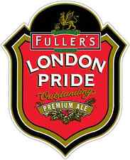"Fuller's London Pride Beer Car Bumper Window Locker Sticker Decal 4""X5"""