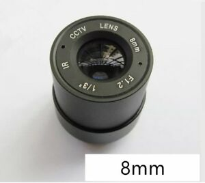 CCTV Security Cameras Lens High Quality 4.0mm F1.2 Brand New in Box FREE UK P&P