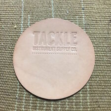 Tackle Instrument Supply Bass Drum Beater Patch, Large, Natural