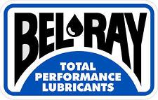 """#608 (1) 3"""" Belray Vintage superbike sponsor decal racebike race vinyl LAMINATED"""