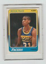 1987-88 Fleer Reggie Miller Rookie Card #57