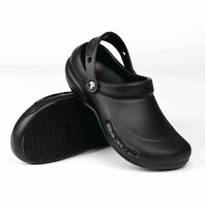 Crocs Womens Bistro Closed Toe Slingback Clogs Black Size 9.0 8dlv