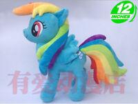lovely horse Rainbow Dash cartoon plush doll dolls cute kids gift new