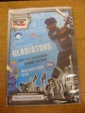 2010 Cricket: Gloucestershire Gladiateurs 2010 c&g Cheltenham Cricket Festival, P