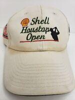 Shell Houston Open adjustable golf hat Cobra ad cap Restoration stotts vintage