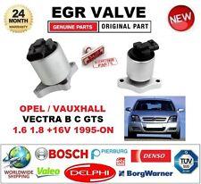 para Opel VECTRA B C GTS 1.6 1.8+ 16v 1995 En Adelante Válvula EGR 5-pin Ovalado