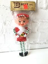 Vintage ELF in original packaging Retro Christmas Decoration Bendable NOS