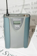 Stageline TXS-871HSE UHF pocket transmitter. Channel 70 lisence free frequencies