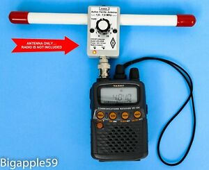 Active Ferrite Antenna 1.5 - 7.5 MHz For Icom IC-R20  AOR AR8200 Alinco DJ-X11